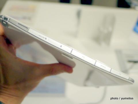 富士通2013年新タブレット「QHシリーズ」855