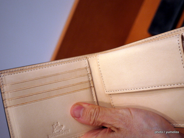 ココマイスター「インペリアル」二つ折り財布