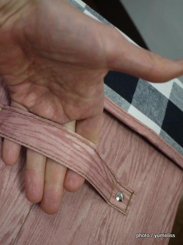 フェリシモ こっそり片づくスツールボックスP1160311