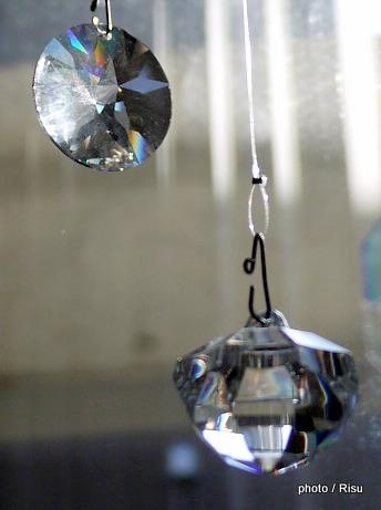 フェリシモ チェコの職人が作ったシャンデリア ボヘミアガラスのインテリアルース