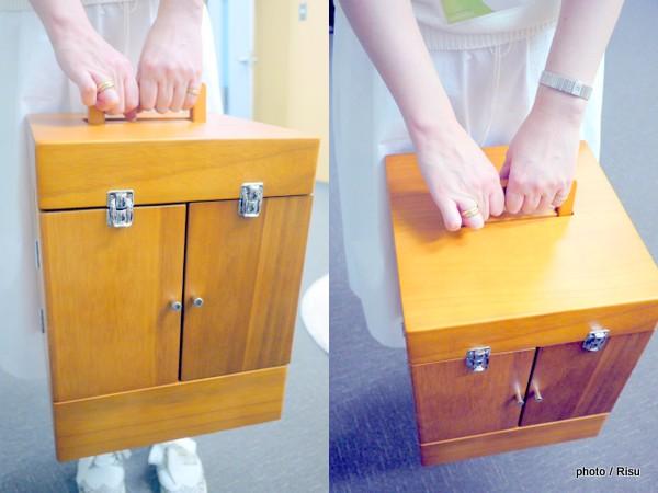 多機能メイクボックス