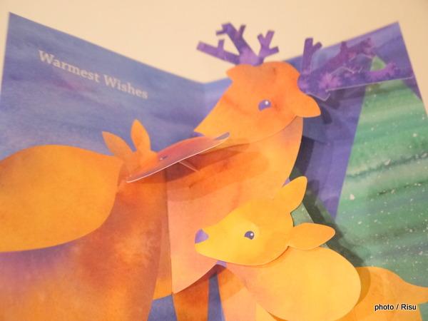 MoMA大人のクリスマスカード2015 トナカイ