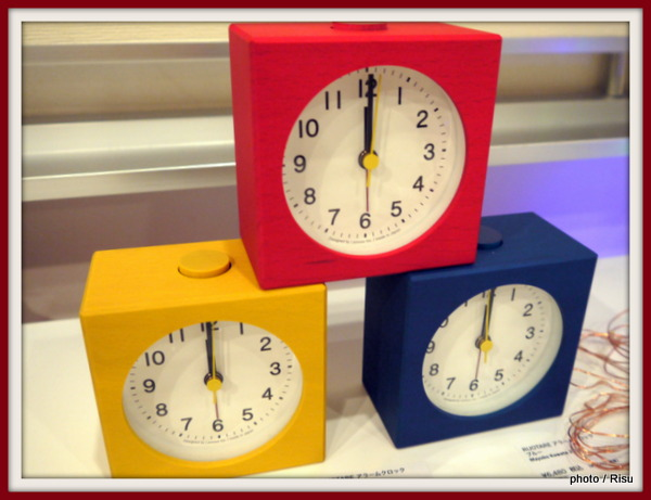 ROUTARE ALARM CLOCKS MAYUKO KUWATA,2014 EXCLUSIVE