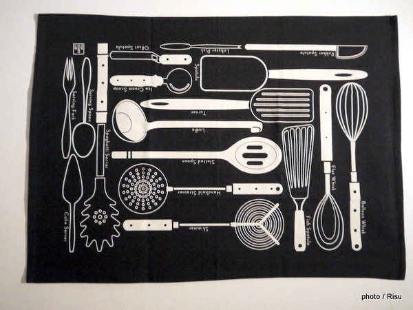 utenslils tea towel pop chart,2015
