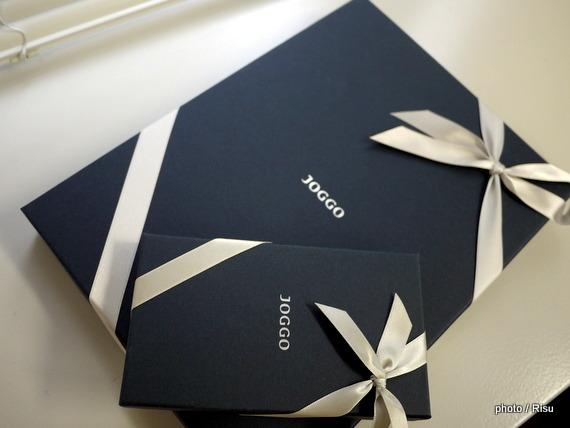 JOGGO オーダーメイド革小物 ギフトパッケージ