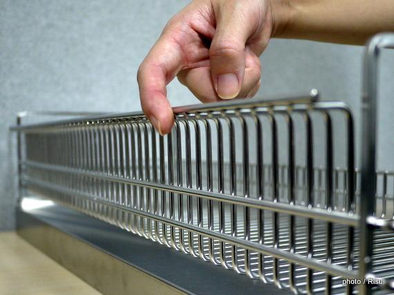 燕三条で作るステンレス製水切りカゴ
