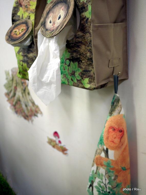 YOU+MORE ! ゴソゴソ巣穴から取り出す レジ袋ストッカー