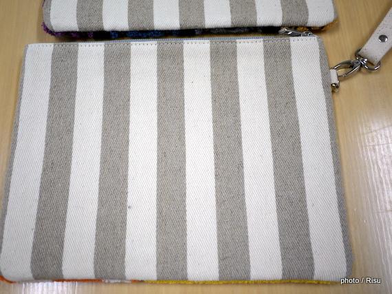 サガラ刺繍クラッチバッグ(スター・ウォーズ)