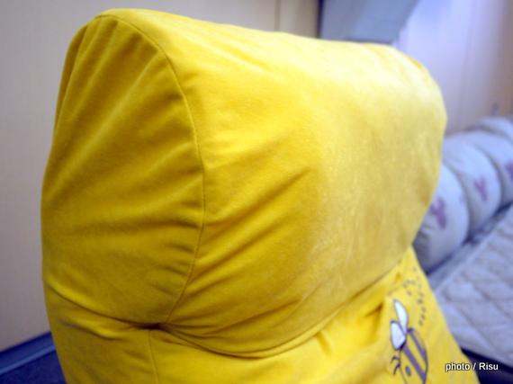 クッション付き座椅子(ディズニー くまのプーさん)