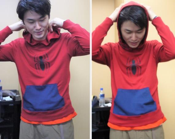 スパイダーマン|なりきり裏起毛パーカ