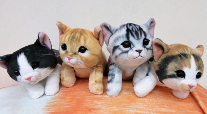 猫好きなら堪らない!猫ポーチ実用型・非実用型2タイプ