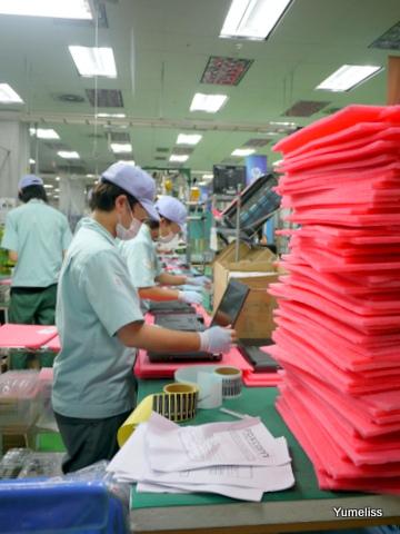 日本HP昭島工場見学