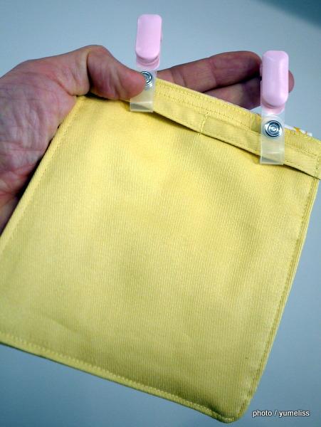 フェリシモ「あけっぱなしでも使える 出し入れラクチンくるりんマイポッケ」0054