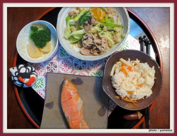 フェリシモ「貼るだけおしゃれ食卓気分テーブルタイルシール」IMG_7999