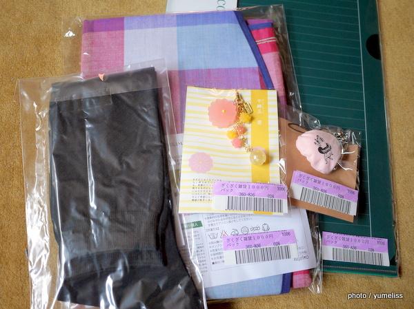 フェリシモざくざく雑貨1000円パックP1170179