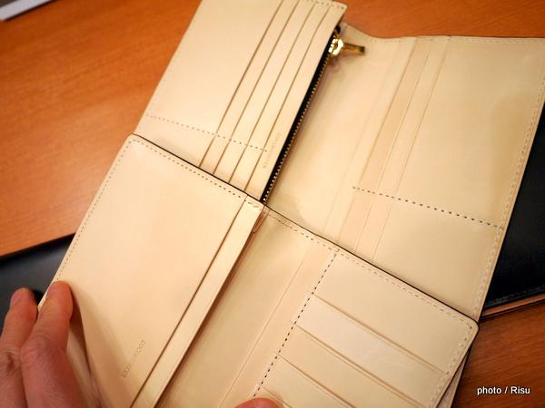 ココマイスター「コードバン 薄型長財布」