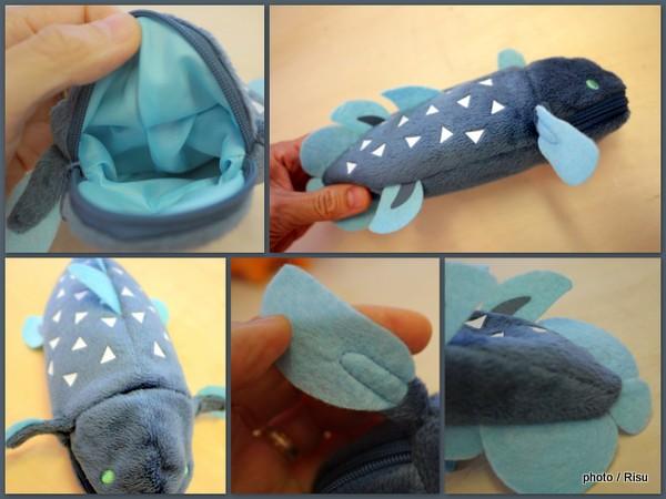 ギョッ!とびっくり かたちイロイロ深海魚ポーチ〈基本編〉