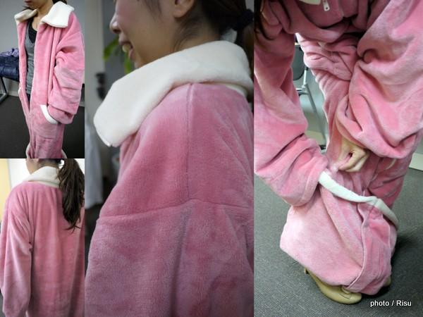 もっとあったかくなった着る毛布