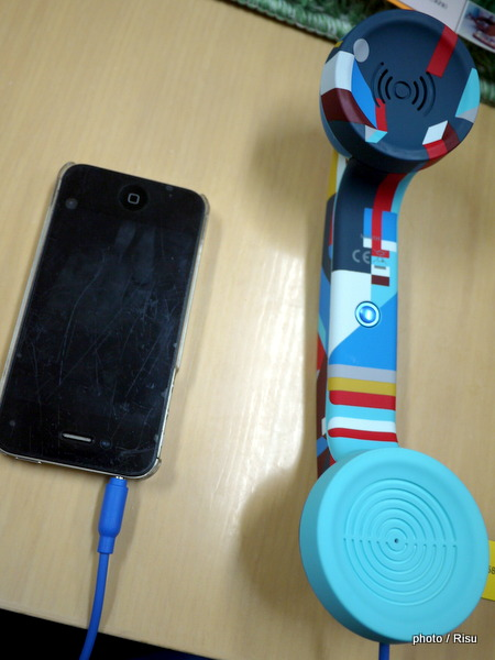 スマートフォン受話器ポップフォン 北欧