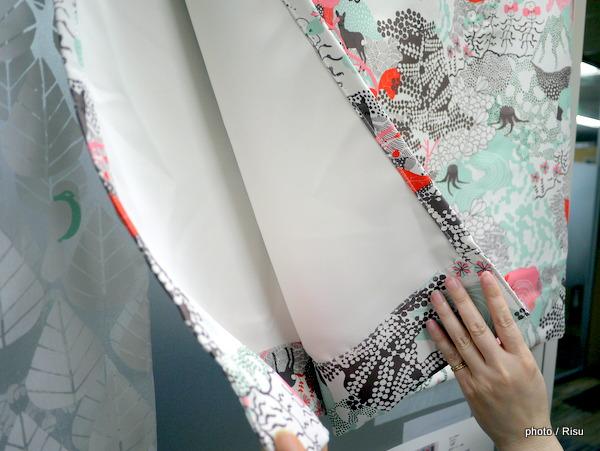 北欧 遮光カーテン