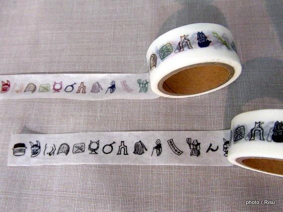 お寺文化を楽しく学ぶ 絵心経マスキングテープセット