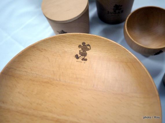 木製テーブルウェア(ディズニー)
