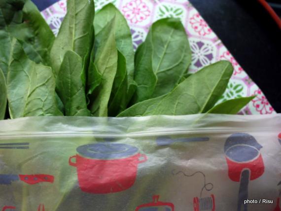 フェリシモ 鮮度の違いに納得 米ぬかからできた抗菌・鮮度保持ジップバッグ