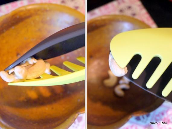 つかめるすくえる便利なトング フェリシモ