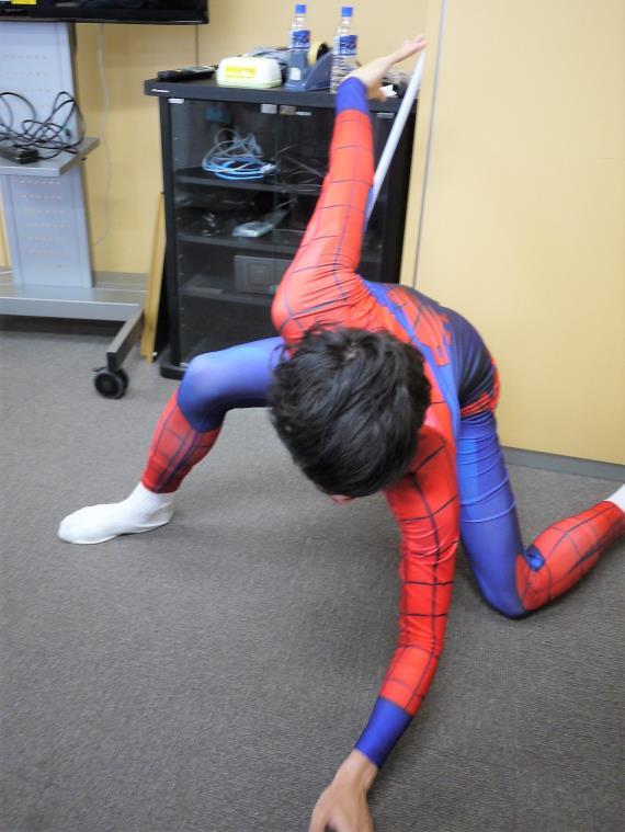 スパイダーマン|トランスフォームインナー